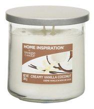 Yankee candle Creamy Vanilla Coconut - YC HI tumbler 2 knoty,340g