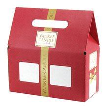 Yankee candle Dárková krabička Yankee Candle Na 2 střední svíčky Classic, červená
