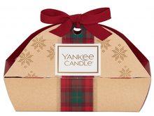 Yankee candle Dárková sada s mašlí Christmas Yankee Candle 3 KS votivních vonných svíček 2019