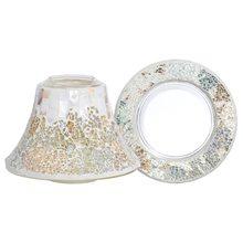 Yankee candle Dárková sada Yankee Candle Velký talířek + stínítko, perleťově-zlatá mozaika