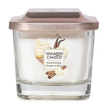 Yankee candle Elevation sklo malé 1 knot Sweet Frosting