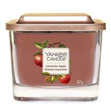 Yankee candle Elevation sklo střední 3 knoty Amaretto Apple