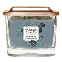 Yankee candle Elevation sklo střední 3 knoty Dark Berries