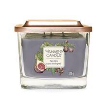 Yankee candle Elevation sklo střední 3 knoty Fig & Clove