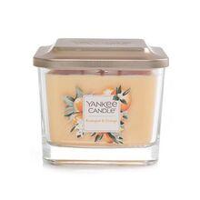 Yankee candle Elevation sklo střední 3 knoty Kumquat & Orange