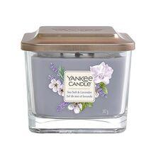Yankee candle Elevation sklo střední 3 knoty Sea Salt & Lavender