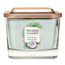 Yankee candle Elevation sklo střední 3 knoty Shore Breeze
