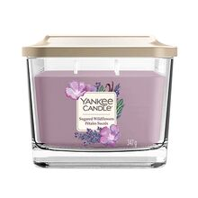 Yankee candle Elevation sklo střední 3 knoty Sugared Wildflowers