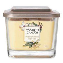 Yankee candle Elevation sklo střední 3 knoty Sweet Nectar Blossom