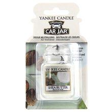 Yankee candle Osvěžovač do auta Yankee Candle Bambucké máslo, 1x visačka