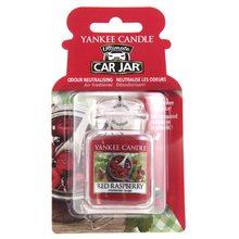 Yankee candle Osvěžovač do auta Yankee Candle Červená malina, 1x visačka