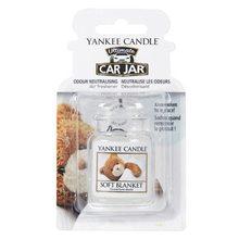 Yankee candle Osvěžovač do auta Yankee Candle Jemná přikrývka, 1x visačka