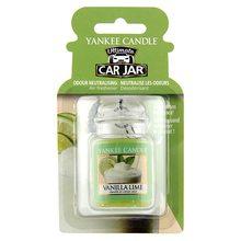 Yankee candle Osvěžovač do auta Yankee Candle Vanilka s limetou, 1x visačka