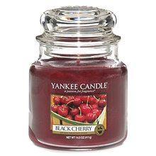 Yankee candle sklo2 Black Cherry