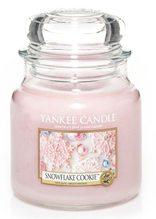 Yankee candle sklo2 Snowflake Cookie