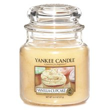 Yankee candle sklo2 Vanilla Cupcake
