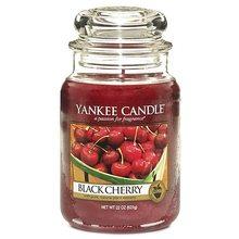 Yankee candle sklo3 Black Cherry