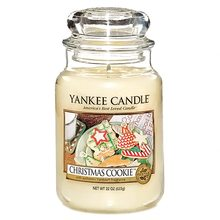 Yankee candle sklo3 Christmas Cookie