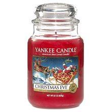 Yankee candle sklo3 Christmas Eve