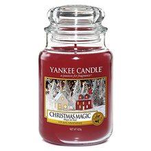 Yankee candle sklo3 Christmas Magic