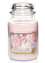 Yankee candle sklo3 Snowflake Cookie