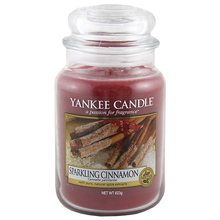 Yankee candle sklo3 Sparkling Cinnamon