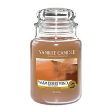 Yankee candle sklo3 Warm Desert Wind
