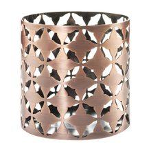 Yankee candle Svícen kovový Yankee Candle Moroccan Copper, výška 8 cm