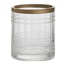 Yankee candle Svícen skleněný Yankee Candle Copper Elegance 1, průměr 7 cm
