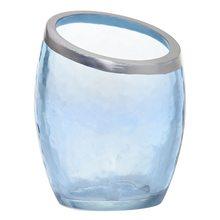 Yankee candle Svícen skleněný Yankee Candle Modrá perleť, průměr 8 cm