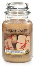 Yankee candle Svíčka Candle Brown Paper Packages 623g Balíčky v hnědém papíru