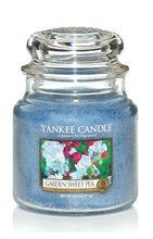 Yankee candle Svíčka Garden Sweet Pea 411g Květy ze zahrádky
