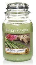 Yankee candle Svíčka LemonGrass & Ginger 623g Citrónová tráva a zázvor