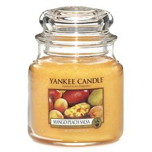 Yankee candle Svíčka Mango Peach Salsa 411g Salza z manga a broskví