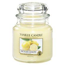 Yankee candle Svíčka Sicilian Lemon 411g Sicilský citrón