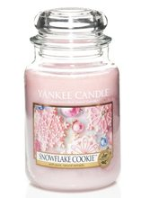 Yankee candle Svíčka Snowflake Cookie 623g Cukrová vločka