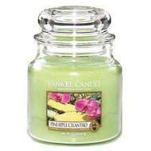 Yankee candle Svíčka ve skleněné dóze Yankee Candle Ananas s koriandrem, 410 g