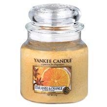 Yankee candle Svíčka ve skleněné dóze Yankee Candle Anýz a pomeranč, 410 g