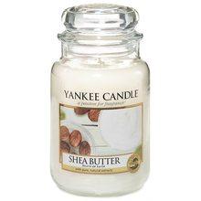 Yankee candle Svíčka ve skleněné dóze Yankee Candle Bambucké máslo, 623 g