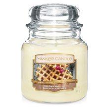 Yankee candle Svíčka ve skleněné dóze Yankee Candle Belgické vafle, 410 g