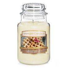 Yankee candle Svíčka ve skleněné dóze Yankee Candle Belgické vafle, 623 g