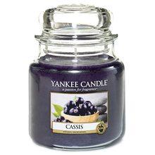 Yankee candle Svíčka ve skleněné dóze Yankee Candle Černý rybíz, 410 g