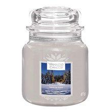 Yankee candle Svíčka ve skleněné dóze Yankee Candle Chata ozářena svíčkou, 410 g