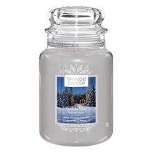 Yankee candle Svíčka ve skleněné dóze Yankee Candle Chata ozářena svíčkou, 623 g