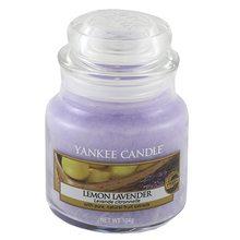Yankee candle Svíčka ve skleněné dóze Yankee Candle Citrón a levandule, 104 g