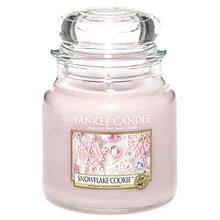Yankee candle Svíčka ve skleněné dóze Yankee Candle Cukrová vločka, 410 g