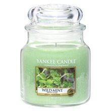 Yankee candle Svíčka ve skleněné dóze Yankee Candle Divoká máta, 410 g