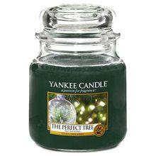 Yankee candle Svíčka ve skleněné dóze Yankee Candle Dokonalý stromek, 410 g