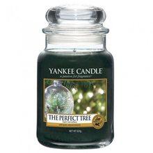 Yankee candle Svíčka ve skleněné dóze Yankee Candle Dokonalý stromek, 623 g