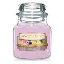 Yankee candle Svíčka ve skleněné dóze Yankee Candle Dortík s květy, 104 g
